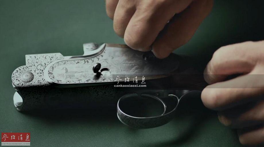 491年工艺!伯莱塔手工打造顶级猎枪