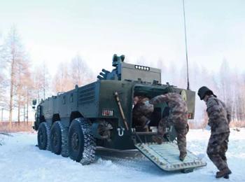 英媒关注中国新型两栖装甲车测试:或装备海军陆战队