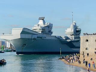 造价超30亿英镑!女王号航母二次试航