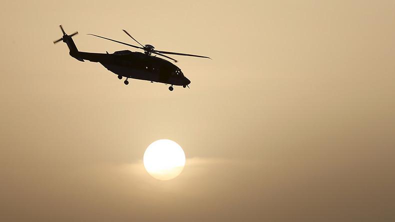 沙特一直升机坠毁 一名王子等机上7人遇难