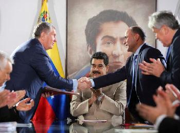 美媒:委内瑞拉日益靠近中俄 寻求摆脱地区孤立