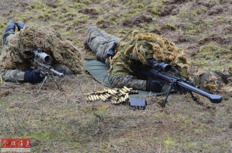 百步穿杨!看外军重狙部队实弹打靶