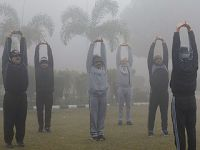 印度出现严重雾霾天