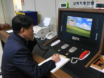 """外媒:朝韩重启板门店直通热线 金正恩""""高度评价""""韩方表态"""