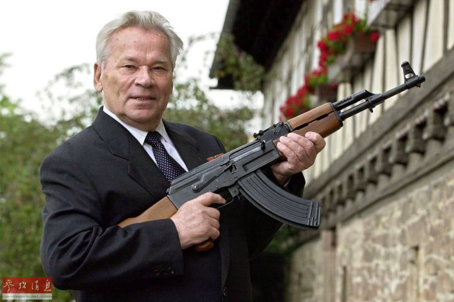 美媒评世界五大最强枪械:中国95入选