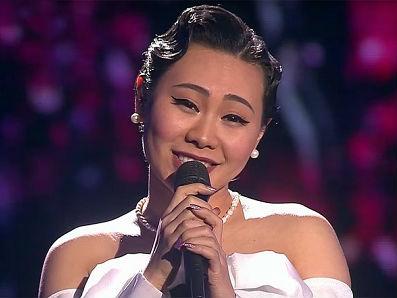 """北京女孩成俄版""""好声音""""最亮眼明星 称自己是莫斯科女郎"""