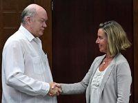 莫盖里尼说欧盟将继续支持古巴