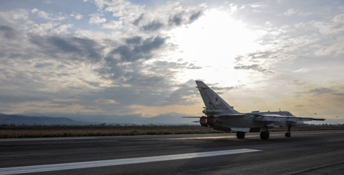 俄否认驻叙基地7架战机被炸毁 称1架战机技术原因失事