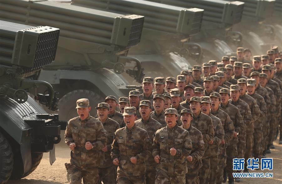 2018中国军队新年开训全景大扫描