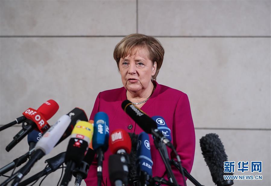 德国联盟党与社民党进行组阁试探性谈判