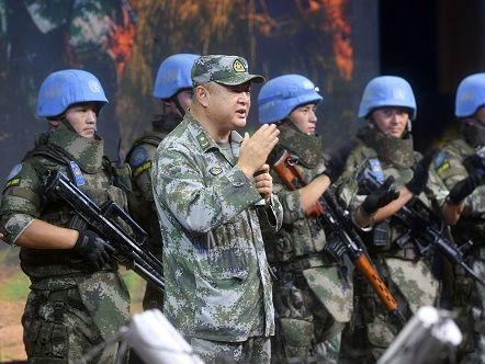 港媒:中国维和部队与南苏丹武装人员对峙 并成功驱离
