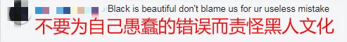 网友评论:不要因为自己愚蠢的错误就责怪黑人文化_meitu_1