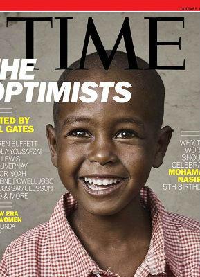 比尔·盖茨的乐观主义