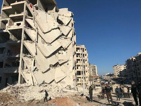 叙政府猛攻叛军手中最后地盘外媒:决心恢复对全国控制