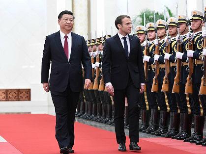 外媒:中法元首擘画双边合作新时代