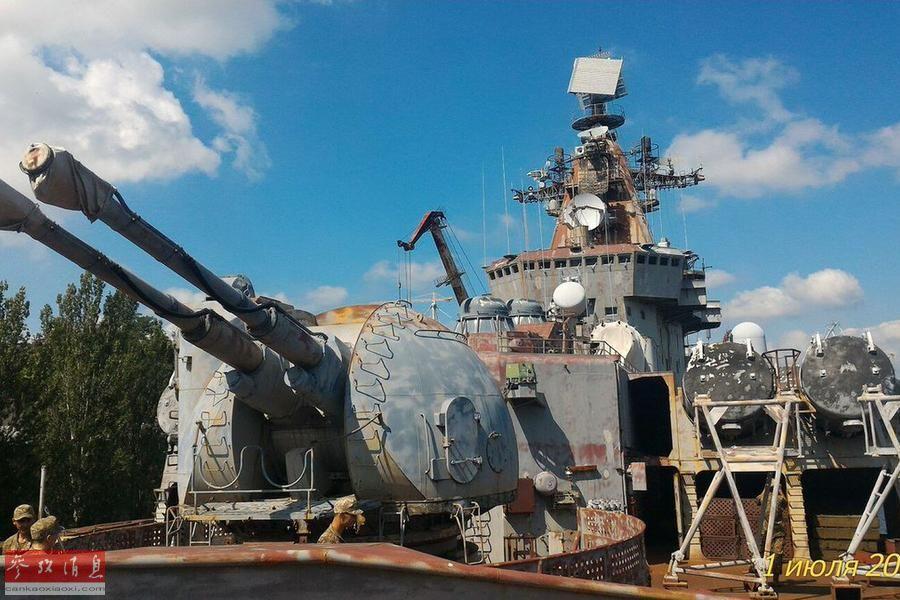 巨舰成废铁!苏联万吨巡洋舰烂尾而终