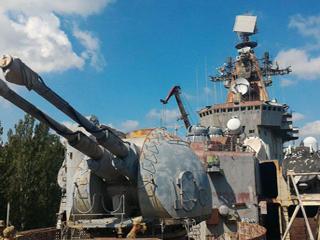 苏联万吨巡洋舰烂尾而终巨舰成废铁!
