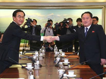 外媒:朝韩达成多项共识展现缓和意愿