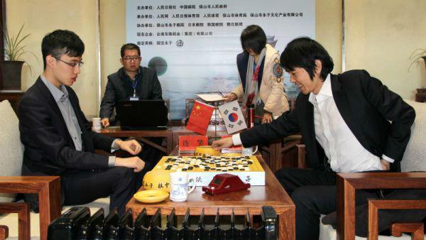 第五届世界围棋名人争霸战 李世石战胜连笑夺冠