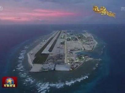 中国南海岛礁防卫建设引菲不满 外交部:维护地区和平