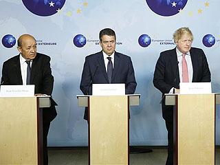 欧盟及法德英三国重申维护伊核协议