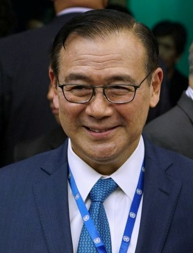 10、资料图:菲律宾常驻联合国代表洛钦