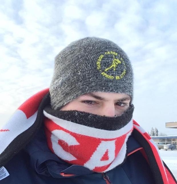 当户外气温降至零下摄氏45度,会是怎样的画风?
