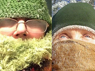 当户外气温降至零下摄氏45度是什么样?