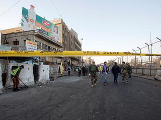 巴格达两起自杀式炸弹袭击造成27死91伤