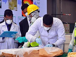 斯里兰卡销毁近一吨可卡因