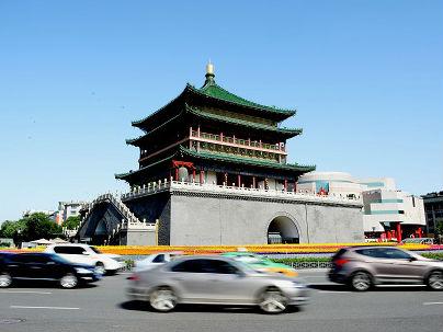 """港媒:西安""""全球最大净化器"""" 每天制造千万立方米清洁空气"""