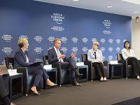 世界经济论坛创始人呼吁解决全球挑战