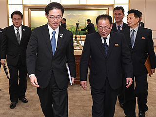朝韩就朝方参加冬奥会多项事宜达成一致