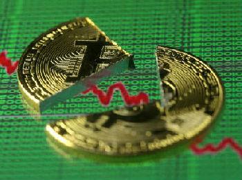 外媒:多国监管收紧 比特币一天内暴跌25%