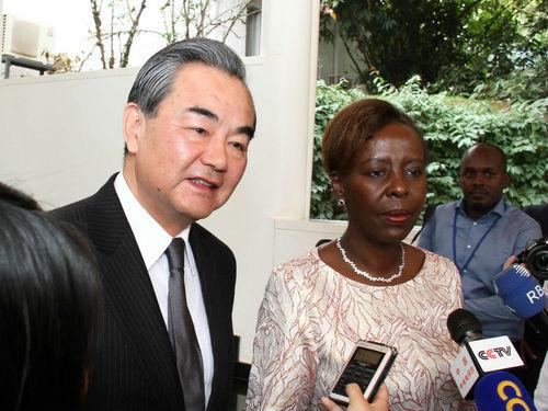 中国外长连续28年开年首访非洲 俄媒:台湾两个