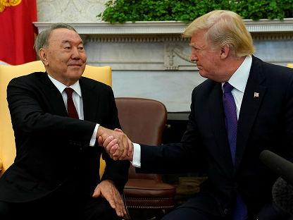 俄媒:哈萨克斯坦总统访美俄忧其在中亚影响力被美削弱