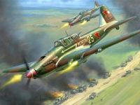 4年3.6万架!伊尔-2成二战最高产机型
