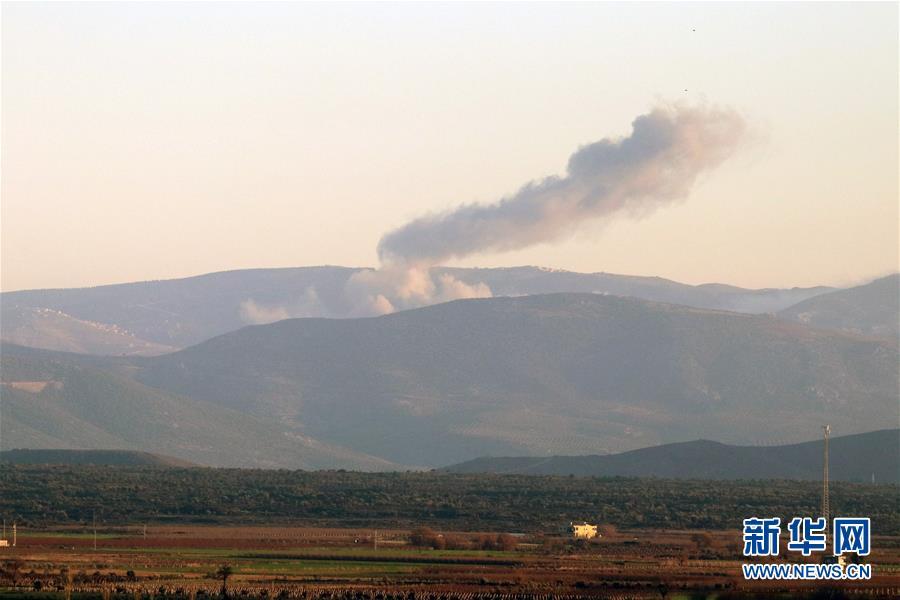 土耳其宣布发起对叙利亚阿夫林的军事行动