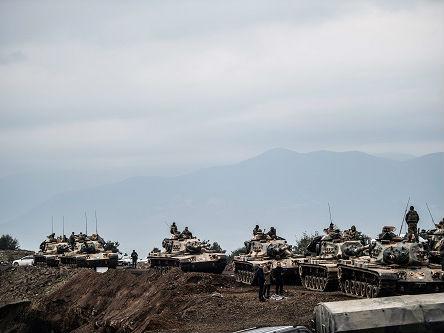外媒:土耳其对叙利亚库尔德武装发动地面攻势