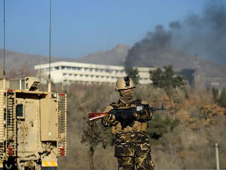 阿富汗喀布尔豪华酒店遭武装分子袭击至少18人死亡