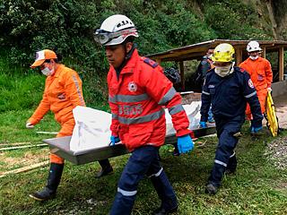 哥伦比亚南部发生泥石流致13人遇难