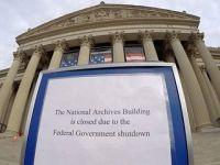 美国联邦政府非核心部门关门谢客