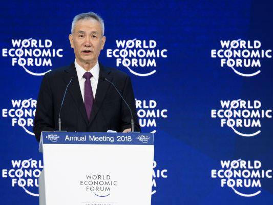 境外媒体:中国在达沃斯重申反对保护主义