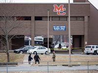 美国一中学发生枪击案造成2死17伤