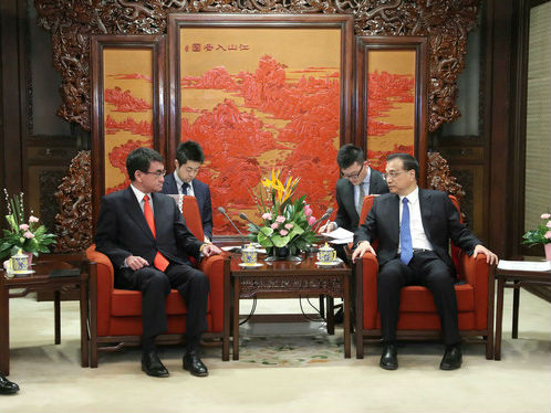 境外媒体:中日力促双边关系重回正轨
