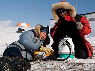 居然在北极研究外太空生命?