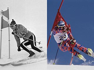 冬奥会90多年风格演变史 以前穿成这样就上赛场了