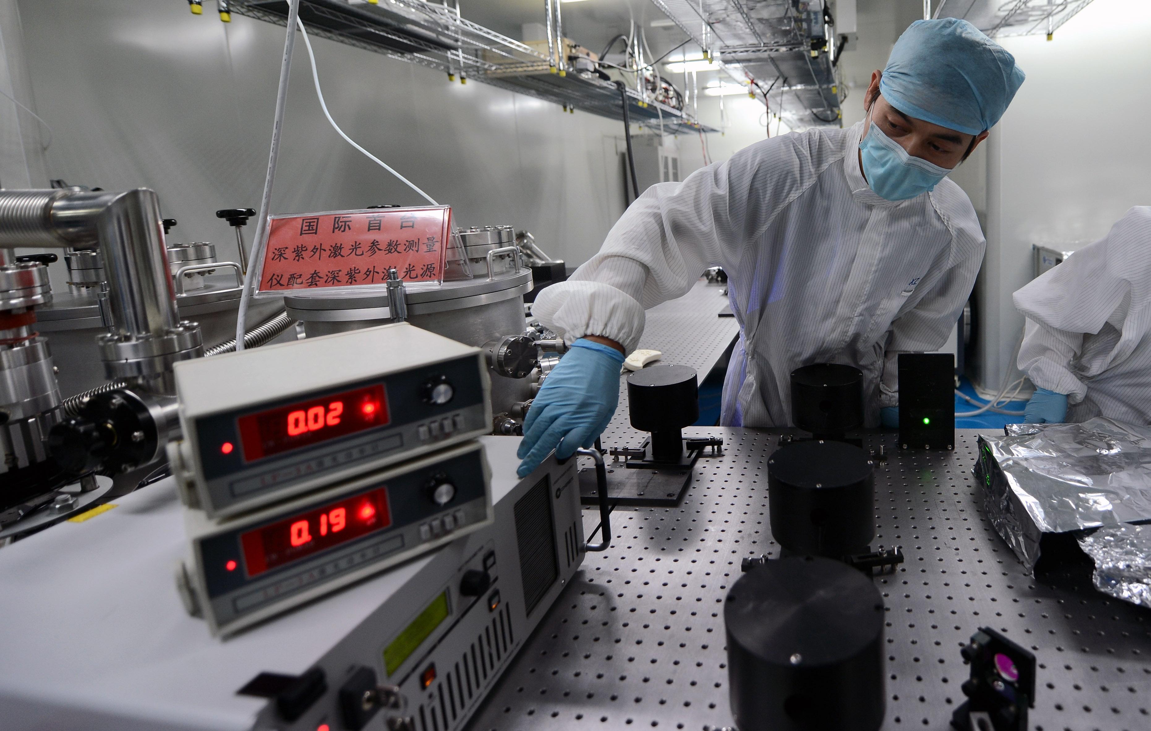 中国超级激光器可撕裂真空 美媒:功率等于世界总电力1万倍