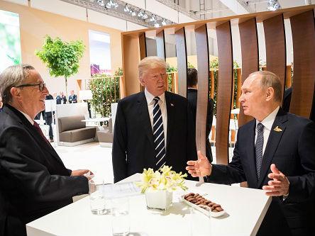 """""""普京名单""""是白宫连环计?俄媒称美俄总统会晤时机到来"""