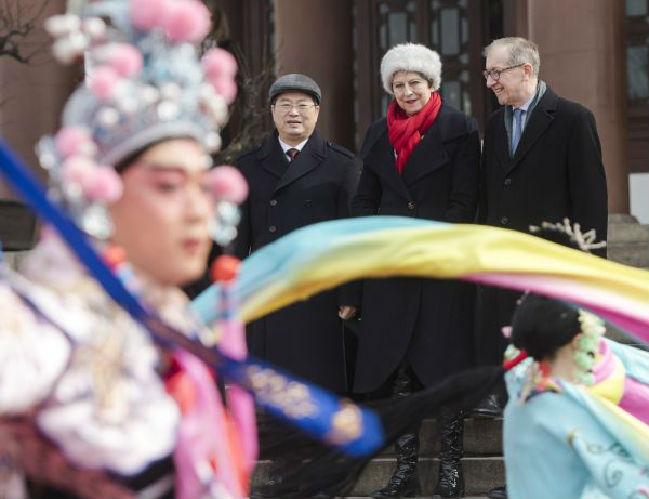 """特朗普称中国为竞争对手遭英首相""""打脸"""" 俄媒:他俩关系不好"""